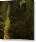 Sunbeam Swamp Metal Print