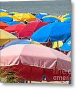 Sunbrellas Metal Print