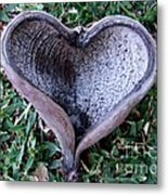 Sunburned Heart Metal Print