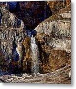 Sundance Aspen Waterfall Metal Print