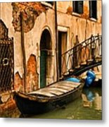 Sunday In Venice Metal Print