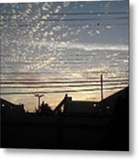 Sunday Is Almost Over Metal Print