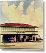 Sunday Morning At The 6-eleven Metal Print