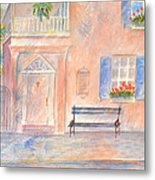 Sunday Morning In Charleston Metal Print