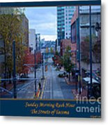 Sunday Morning Rush Hour Metal Print