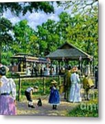 Sunday Picnic Metal Print