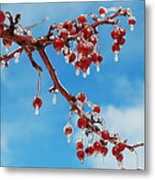 Sunday With Cherries On Top Metal Print