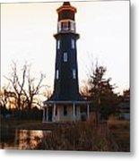 Sundown Dwight Windmill Metal Print