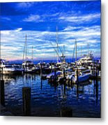 Sundown In Sag Harbor Metal Print