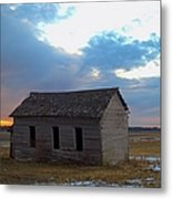 Sundown School 2 Metal Print