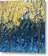 Sundrenched Trees Metal Print