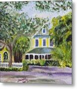 Sundy House In Delray Beach Metal Print