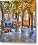Sunfilled Cathedral Metal Print