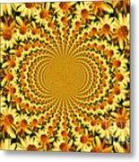 Sunflower Dance Metal Print