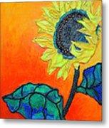 Sunflower Metal Print by Diane Fine