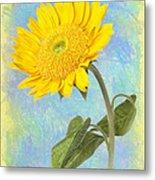 Sunflower Fantasy Metal Print