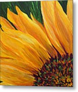 Sunflower From Summer Metal Print by Mary Jo Zorad