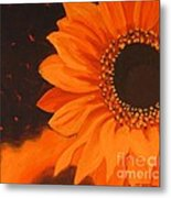 Sunflower Mystique Metal Print
