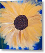 Sunflower Not Sunflower Metal Print