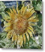Sunflower Painting Metal Print