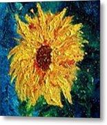 Sunflower - Tribute To Vangogh Metal Print