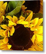 Sunflowers Tall Metal Print