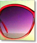 Sunglass - 5d20678 - V1 Metal Print by Wingsdomain Art and Photography