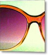 Sunglass - 5d20678 - V3 Metal Print