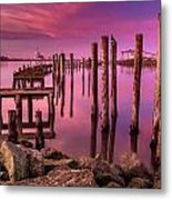 Sunk In Twilight Metal Print