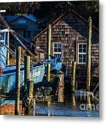 Shem Creek Life Metal Print