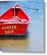 Sunken Metal Print
