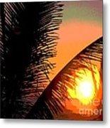Sunlight - Ile De La Reunion - Reunion Island Metal Print