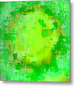 Original Abstract Art Painting Sunlight In The Trees  Metal Print