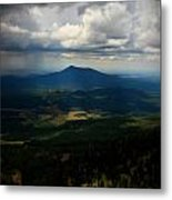 Sunlight On The Valley Floor Metal Print