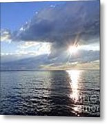 Sunlight Reflections Metal Print