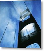 Sunlight Shining Through Golden Gate Metal Print