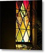 Sunlit Chapel Metal Print