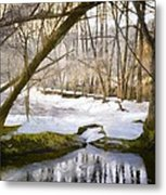 Sunny But So Cold Metal Print