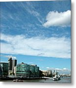 Sunny Day London Metal Print