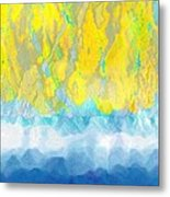 Sunny Day Waters Metal Print