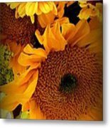 Sunny Easter Bouquet Metal Print