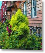 Sunny Morning Mayfair Metal Print