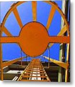 Sunny Perspective Metal Print