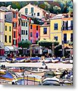Sunny Portofino - Italy Metal Print