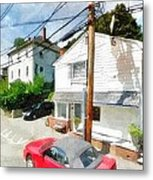 Sunny Side Of The Street Metal Print