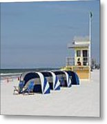 Sunnyday At Clearwater Beach Metal Print