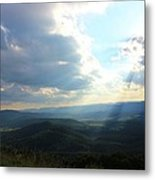 Sunray Valley Metal Print