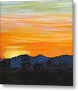 Sunrise - A New Day Metal Print