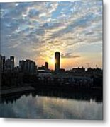 Sunrise Arise Buffalo Ny V2 Metal Print