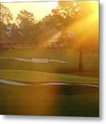 Sunrise At Augusta National Metal Print by Bo  Watson